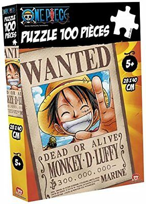 One Piece Puzzle Ruffy Wanted (100 Teile)
