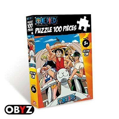 One Piece Puzzle Ruffy Vogue Merry (100 Teile)