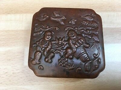 Oriental Box Chinese Japanese 19th/20th Century Possibly