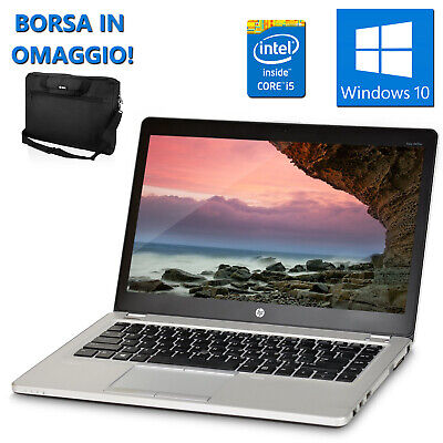 Pc Notebook Portatile Ricondizionato Hp 6475B Quad Core A8 8Gb 250Gb Windows 10
