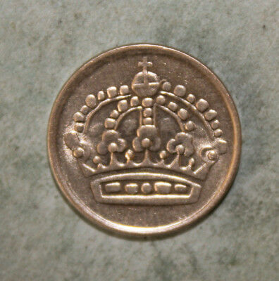 Sweden 10 Ore 1959 Uncirculated Silver Coin  - King Gustav VI