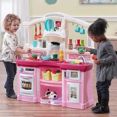 Kid Kitchen Ultimate Large Toy Cooking Pretend Toddler Playset Role Play