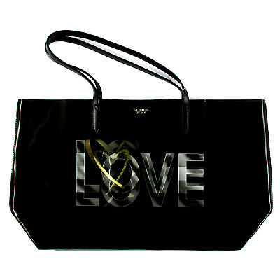 4acba0771b8c4 Victoria s Secret 3D Love Logo Tote Bag - Black - MSRP  68 - New with Tag