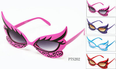 Butterfly Masquerade Costume Glasses with Design Frame Party Props Birthday Fun