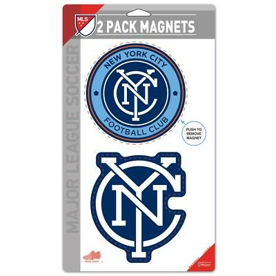 New York City FC Car Magnets (2 Pack)