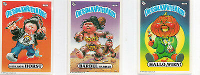 Garbage Pail Kids  -  Die Total Kaputten Kids German - Lot Of 61 Stickers