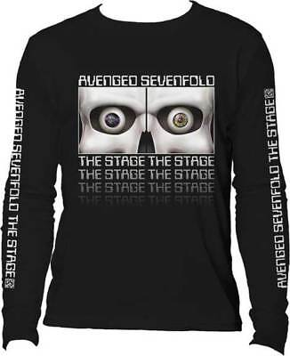 Brand New Men's Avenged Sevenfold The Stage Long Sleeve Printed T-Shirt XL
