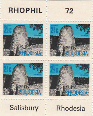 (20452) Rhodesia MNH PHOPHIL 1972 unmounted mint