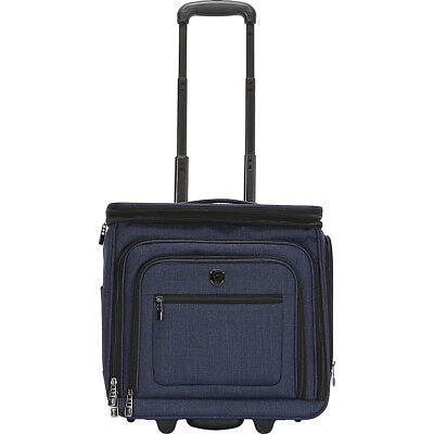 """Travelers Club Luggage Stafford 16"""" Expandable Softside Carry-On NEW"""