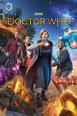 DOCTOR WHO Group Maxi Poster Print 61x91.5cm 24x36 inches FP4745