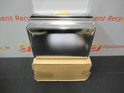 San Jamar T1800XC Singlefold Paper Towel Dispenser Chrome Stainless Steel Lot 2
