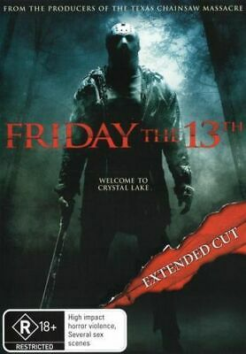 NEW Friday the 13th (2009) DVD Free Shipping
