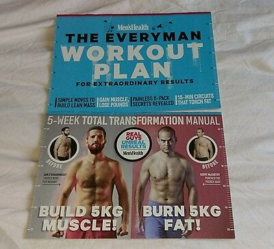 Men's Health booklets, training, fitness, weight loss