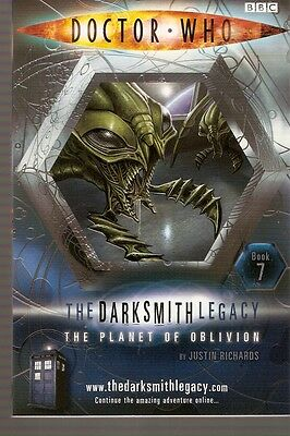 + DOCTOR WHO Paperback DARKSMITH LEGACY 7 The Planet of Oblivion (David Tennant)
