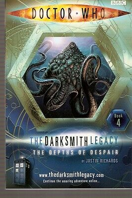 + DOCTOR WHO Paperback DARKSMITH LEGACY 4 The Depths of Despair (David Tennant)