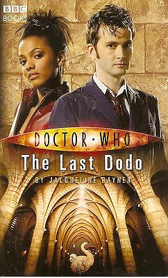 + DOCTOR WHO Paperback The Last Dodo (David Tennant as Doctor) engl.