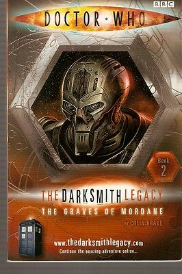 + DOCTOR WHO Paperback DARKSMITH LEGACY 1 The Graves of Mordane (David Tennant)