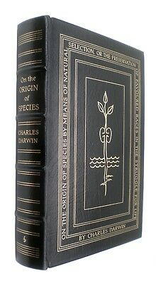 On the Origin of Species by Charles Darwin Easton Press Leather