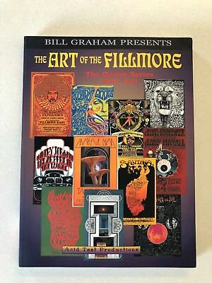 1999 The ART of the FILLMORE The Poster Series 1966-1971 Book - Bill Graham