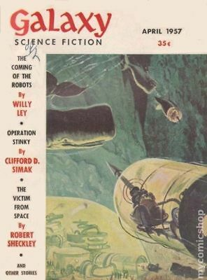 Galaxy Science Fiction (pulp/digest) #Vol. 13 #6 1957 VG 4.0 Stock Image