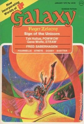 Galaxy Science Fiction (pulp/digest) #Vol. 36 #1 1975 GD/VG 3.0 Stock Image