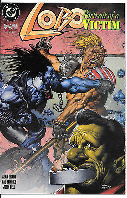 Lobo: Portrait Of A Victim #1 Nm One-Shot (1993) Dc Comics Glen Fabry Cover