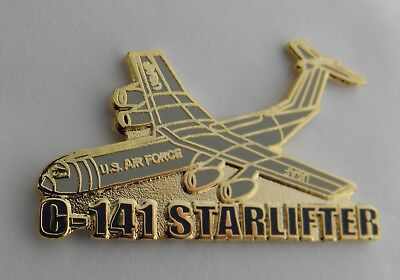 Starlifter C-141 Transport Aircraft Lapel Pin Badge 1.5 Inches
