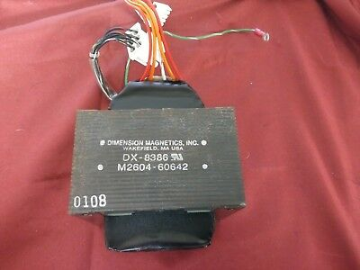 Dimension Magnetics Dx-8386 M2604-60642 Transformer For Philips Telemetry M2604A