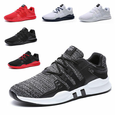 Mens Men Running Trainers Breathable Absorbing comfy Skateboarding Shoes Sports