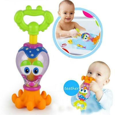 Bath Toy Boy Girl Floating Octopus Toddlers Play Toys Baby Kids Bath Time Toy LC