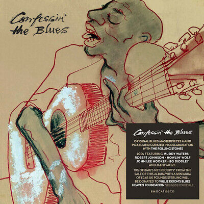 Various - Confessin the Blues CD (2) Bmg Rights Management NEW