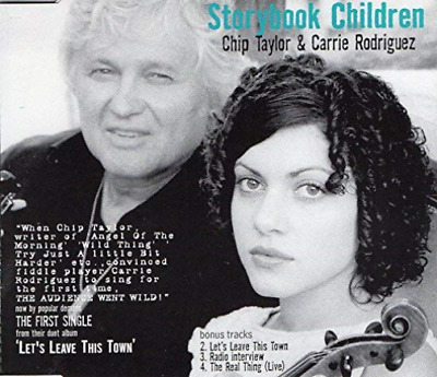 Chip Taylor &Amp; Carrie Rodriguez-Storybook Children (UK IMPORT) CD NEW