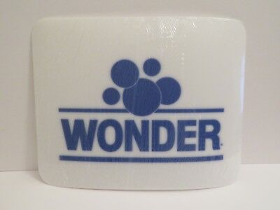 Wonder Bread Placemats Plastic Place Mat Set of 3 NEW Mats Blue White Settings