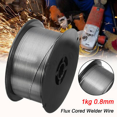 "E71T-11 0.8mm/0.03"" Gasless Mild Steel Mig Welding Wire Flux-Cored All Position"
