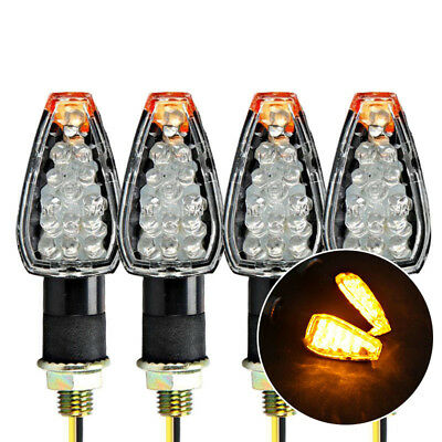 4 X  Turn Signal Indicators Lights Fit For TS DR DRZ DR350 650 DL DRZ400 GSXR SV