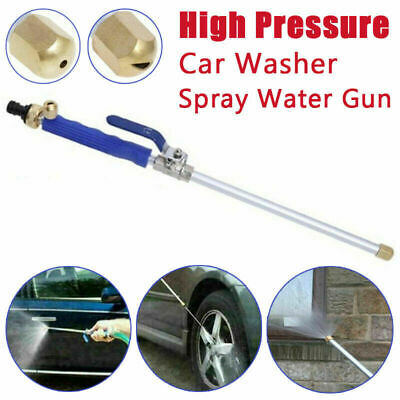 Jet Pressure Water Hydro Wand Spray Attachment High Power New Nozzle Washer Gun