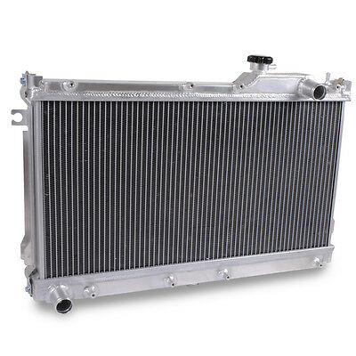 Aluminium Alloy Cooling Race Radiator Rad For Mazda Mx5 Miata Mk1 1.6 1.8 89-98