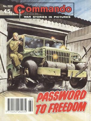 Commando War Stories in Pictures (D. C. Thomson Digest) #2690 1993 VG Low Grade