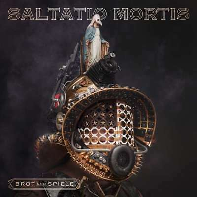 SALTATIO MORTIS Brot und Spiele (Limited Deluxe Edition) 2CD Digipack 2018