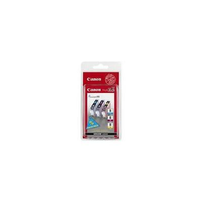 0621B029 Canon Ink Cartridge, Cli-8 , 3 Colour Multipack