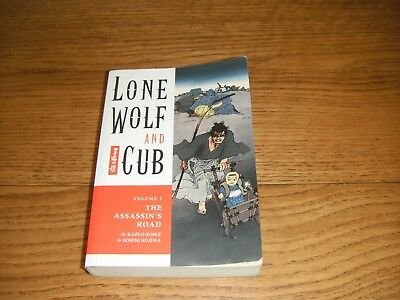 Lone Wolf And Cub Vol 1 The Assassin's Road Koike Kazuo Paperback Comic Graphic