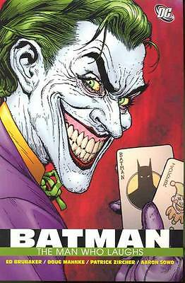 Batman The Man Who Laughs TP (Joker) by Ed Brubaker, NEW Book, FREE & Fast Deliv