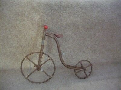 A Copper Bone Shaker Bicycle Ornamental Piece A Wonderful Item