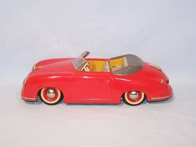 Distler - Porsche - erste Version - in Rot (52948)