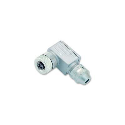 GA251471 99-1436-824-05 Binder Socket , Free , M12 , 5 Way , Lock Ring/Ra/Ss