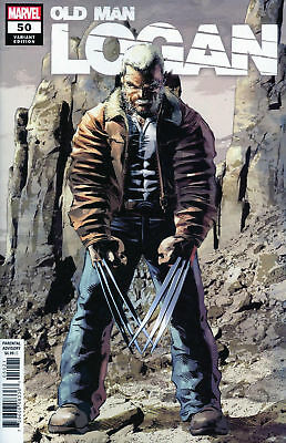 Old Man Logan #50 Mike Deodato Jr Variant Marvel Comic 1st Print 2018 unread NM