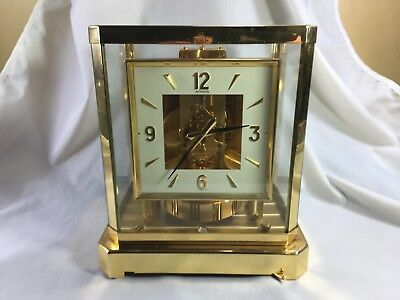 Fine Jaeger LeCoultre Atmos clock 528-8 calibre 15 jewels running well