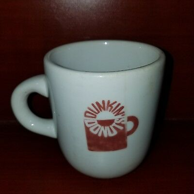Vintage Dunkin Donuts Restaurant Ware Coffee Cup