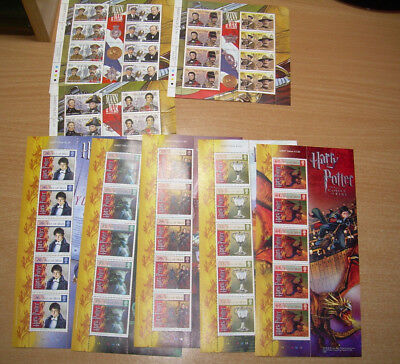 Stamps Isle of Man Collection  Postage Collect Mint sheets.£168+ pounds face