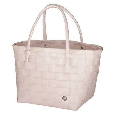 HANDED BY SHOPPER Paris nude pastell rosa Tasche Korb
